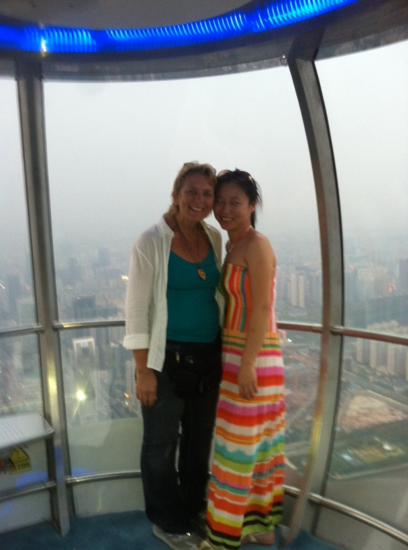 canton tower, guangzhou, bubble, ferris wheel