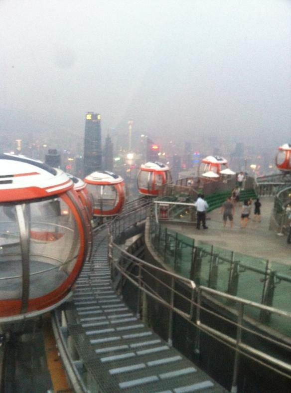 Canton tower, guangzhou, ferris wheel, bubble