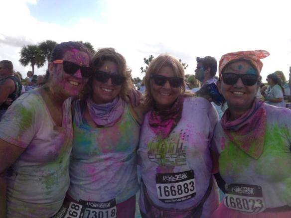 Color Vibe earlier this month!