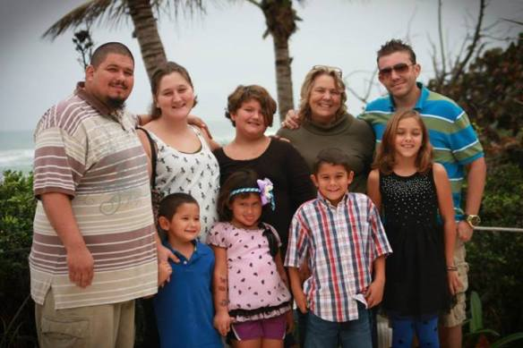 Front: Jose, Sofia, Shane & Sadie Back: Joey, Tiffany, Sydnie, Me & Nick