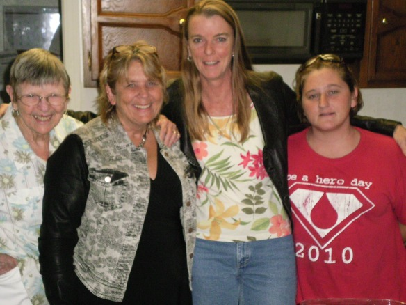 Mom, Me, Hope and Tiffany