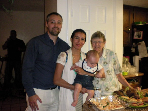 Jenny, Eric and Aydan