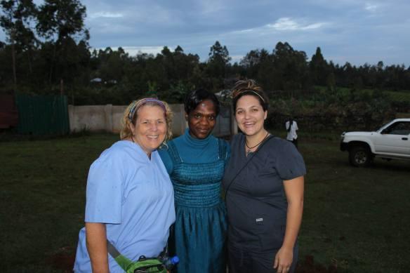 Me, Evelyne and Maya